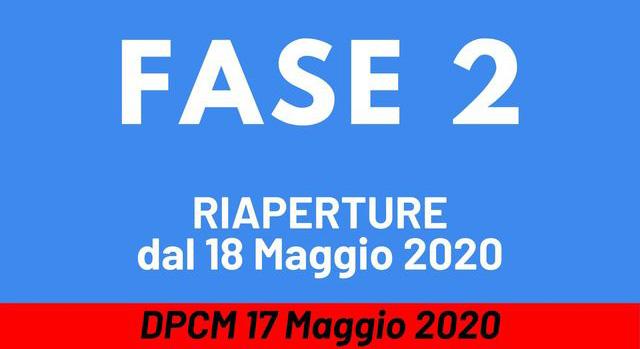 DPCM 18 maggio 2020